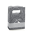25th Anniversary - Personalized Wedding Anniversary Mini Favor Boxes