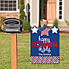 4th of July - 4th of July Party Decorations - Personalized Independence Day Yard Sign