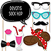 50's Sock Hop - 20 Piece Photo Booth Props Kit