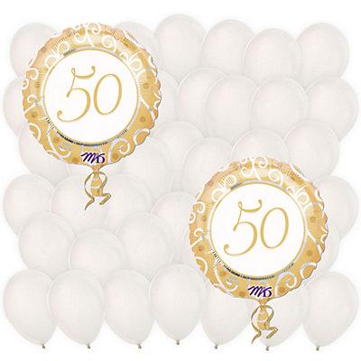 50th Anniversary - Anniversary Balloon Kit