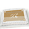 50th Anniversary - Personalized Anniversary Cake Toppers