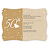 50th Anniversary - Personalized Wedding Anniversary Invitations
