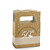 50th Anniversary - Personalized Wedding Anniversary Mini Favor Boxes
