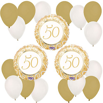 50th Anniversary - Anniversary Balloon Kit