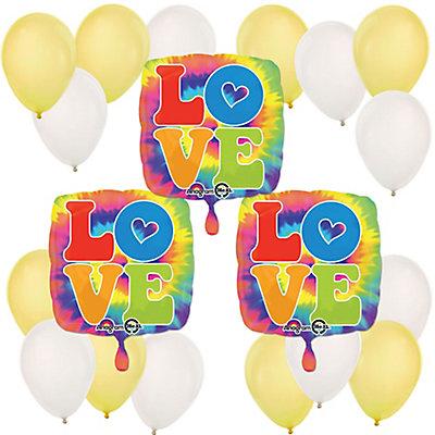 60s Hippie - Mylar Balloon Kit