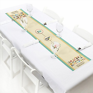 A is for Alphabet - Personalized Party Petite Table Runner