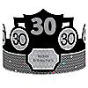 Adult 30th Birthday - Personalized Birthday Party Hats