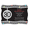 Adult 30th Birthday - Personalized Birthday Party Invitations