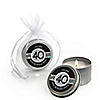 Adult 40th Birthday - Personalized Birthday Party Candle Tin Favors