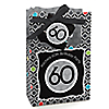 Adult 60th Birthday - Personalized Birthday Party Favor Boxes