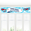 Airplane - Personalized Baby Shower Banners
