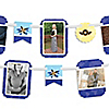 Airplane - Baby Shower Photo Garland Banners