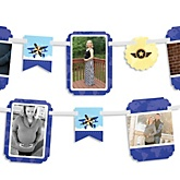 Airplane - Baby Shower Photo Bunting Banner