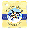 Airplane - Personalized Baby Shower Tags - 20 ct