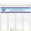Airplane - Personalized Birthday Party Banners