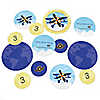 Airplane - Personalized Birthday Party Table Confetti - 27 ct