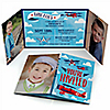 Airplane - Personalized Birthday Party Photo Invitations