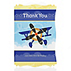 Airplane - Personalized Birthday Party Thank You Cards