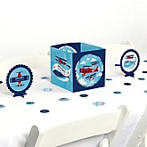 Airplane - Baby Shower Table Decorating Kit