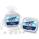 Airplane - Mint Tin Personalized Baby Shower Favors