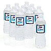 Airplane - Personalized Party Water Bottle Label Favors