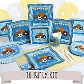 All Star Sports - 16 Person Baby Shower Kit