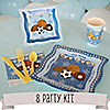 All Star Sports - 8 Person Baby Shower Party Kit