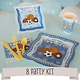 All Star Sports - 8 Person Baby Shower Kit
