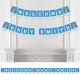 All Star Sports - Personalized Baby Shower Bunting Banner