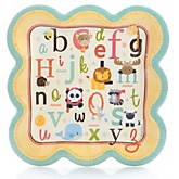 A is for Alphabet - Baby Shower Dinner Plates - 8 Pack