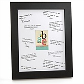 A is for Alphabet - Personalized Baby Shower Print with Signature Mat