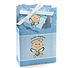 Angel Baby Boy - Personalized Baptism Favor Boxes