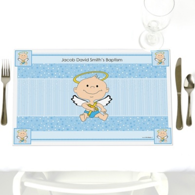 Angel Baby Boy Place mats