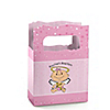 Angel Baby Girl - Personalized Baptism Mini Favor Boxes