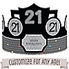 Custom Birthday - Personalized Birthday Party Hats - 8 ct