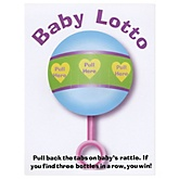 Baby Lotto - Baby Shower Game - 24 ct