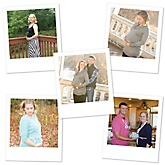 Polaroid Baby Shower Photo Cut-Outs - 12 Count