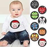Baby's First Holidays Milestone Stickers - 8 Pieces