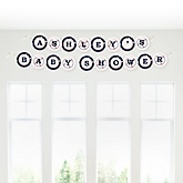 Batter Up - Baseball - Personalized Baby Shower Garland Banner
