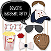 Batter Up - Baseball - 20 Piece Photo Booth Props Kit