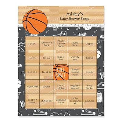 basketball baby shower bingo cards thumb