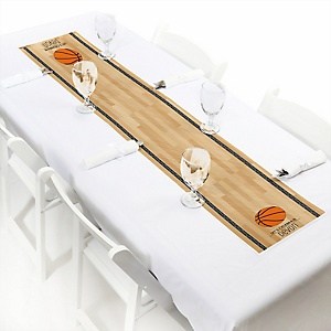 Nothin' But Net - Basketball - Personalized Baby Shower Petite Table Runners