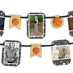 Nothin' But Net - Basketball - Baby Shower Photo Bunting Banner