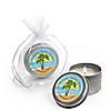 Beach - Personalized Bridal Shower Candle Tin Favors