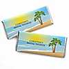 Beach - Personalized Bridal Shower Candy Bar Wrapper Favors