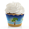 Beach - Bridal Shower Cupcake Wrappers