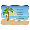 Beach - Personalized Bridal Shower Invitations