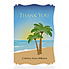 Beach - Personalized Bridal Shower Thank You Cards