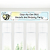 Cute-As-Can-BEE - Personalized Birthday Party Banners