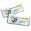 Cute-As-Can-BEE - Personalized Birthday Party Candy Bar Wrapper Favors